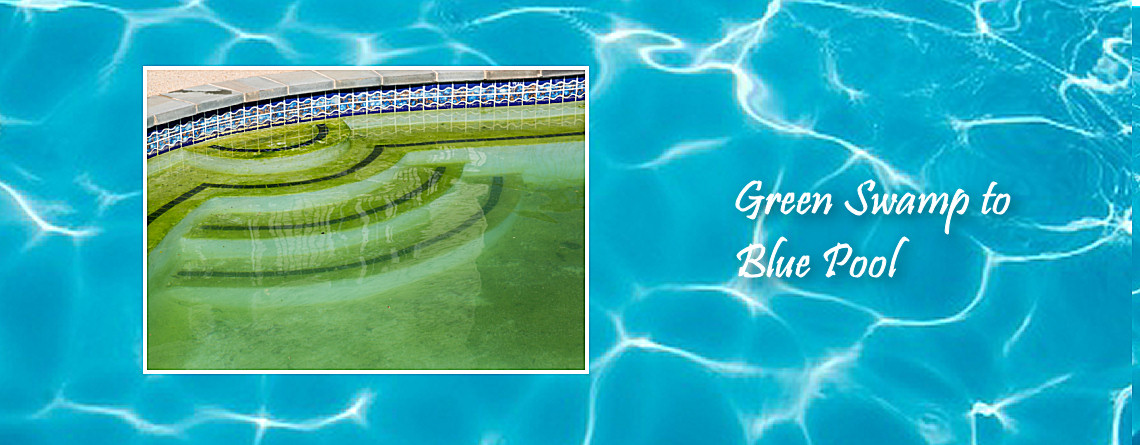 Green Swamp to blue pool