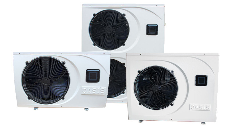 Oasis c series heat pumps